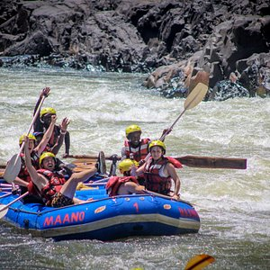 An exhilarating rafting tour on the Zambezi, one of the most exciting white water experience in the world with the only local rafting company in Livingstone.