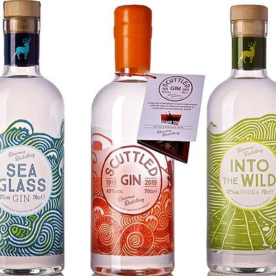 Multi award winning gins and vodka! Commence your sensory journey :-)