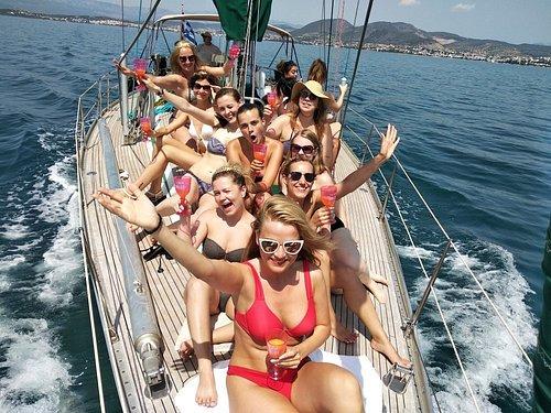 Bachelorette & sunset sailing cruise