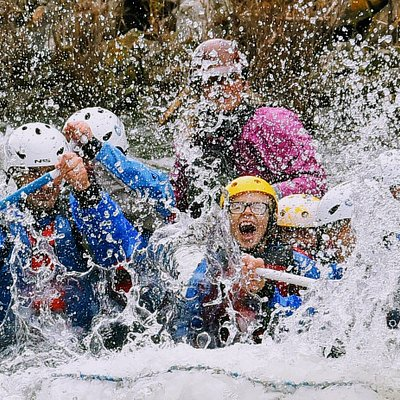 Rafting in Big Sky, Montana on the Gallatin River with Geyser Whitewater Expeditions