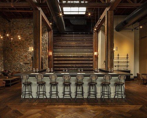 The Pangloss Cellars Tasting Lounge