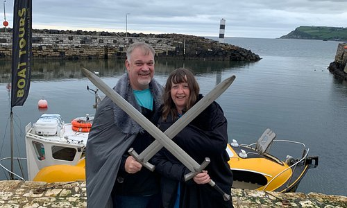 Carnlough harbour....Epic filming location, Get into theme and immerse yourself on the stones and thrones tour. https://stonesandthronestour.com