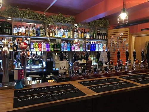 The new tap room. Behind Clarke Mees estate agent