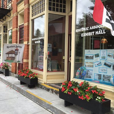Store front for museum