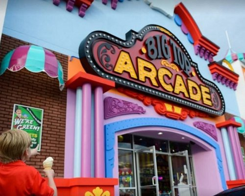 Fun for all ages at Big Top Arcade!