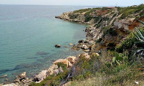 Rafina secluded beach