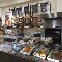 Pastry and ice cream at Pastry House Kulikov