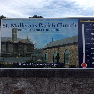 Roof Restoration Fund Sign