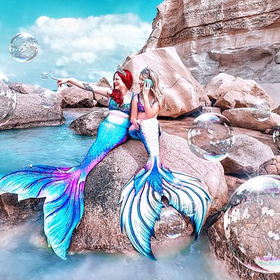 Make your stay in Gozo and Malta unforgettable! At Mermaids Club Malta we provide you with the unique opportunity to live your fairytale dream of being a mermaid in the Mediterranean Sea on the coast of Gozo, Malta or Comino by being photographed in a full mermaid costume!