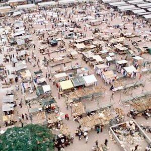 Le zando, à Kinshasa