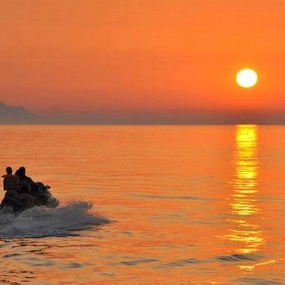 Sunrises and sunsets in Asprokavos are the best!