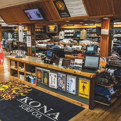 Front floor at the Kona Flagship store