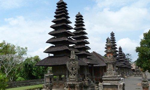 Veduta del Taman Ayun temple