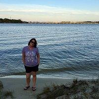 Navy Point Park sunset