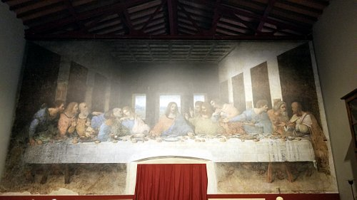 digital reproduction of the Last Supper