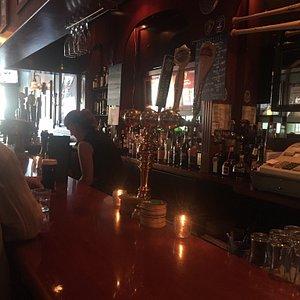 Proper Irish Boston boozer.  Great place.