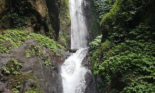 Trekking into secret waterfalls is a must.... book a tour....