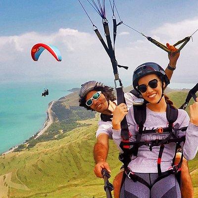 Flying at Sevan lake