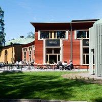 Värmlands Museum, Sandgrundsudden Karlstad. Juni 2019.