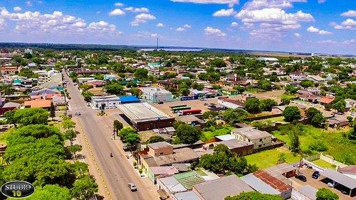 Vista aérea de Itaqui - Rs