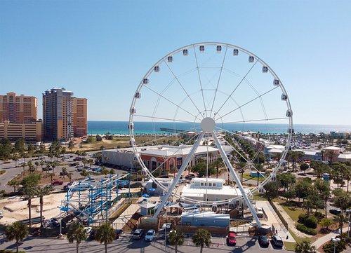 SkyWheel Panama City Beach, at Pier Park in Panama City Beach, FL.