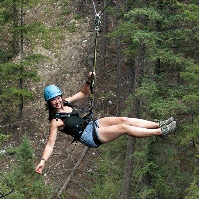 Canopy Zipping