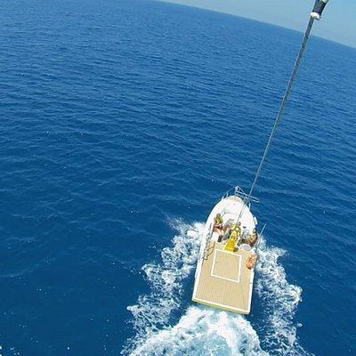 Giro in parasail, da provare una volta nella vita! Entusiasmante, adrenalina e vista mozzafiato!!!