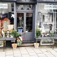 This is the outside of fabulous nellies as you can see we sell mainly french antiques and decorative items for the home also a few childrens clothes ,True grace candles and room sprays.
