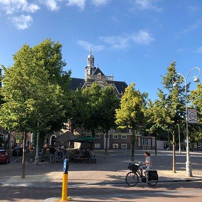 Noodermarkt on non-market day