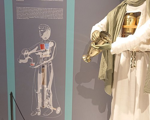 """Worlds first robot. """"Could you serve me some wine please"""""""