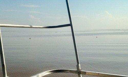 Pool Malebo from a boat