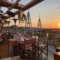 Il tramonto più bello di Rimini