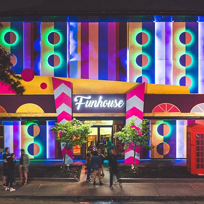 The Funhouse is located on Queen St West at 101 Lisgar St