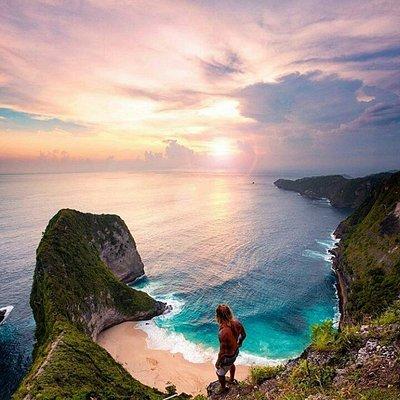Kelingking beach, Nusa Penida Bali