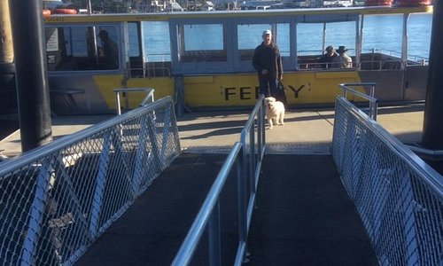 Embarking at Ferry Landing