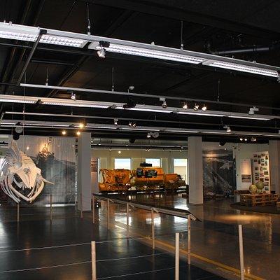 Et overblikk over en del av utstillingen  An overview of part of the exhibition