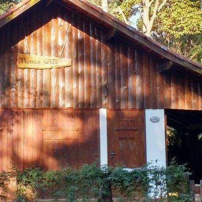 A casa de madeira