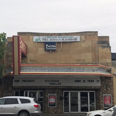 Historic theater in Bemidji hosts local productions.