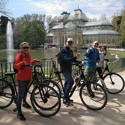 Bike Tour in Retiro Park