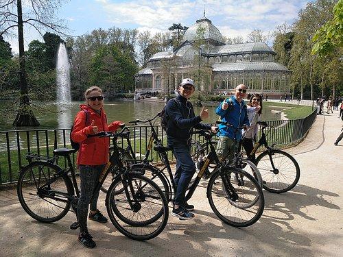 Bike Tour in Retiro Park