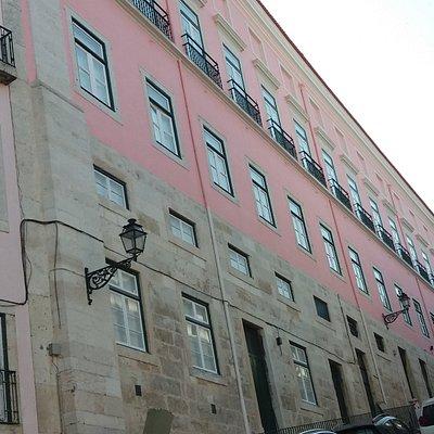 Fachada do Palácio Marquês de Tancos