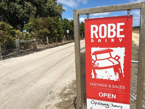Robe Dairy is just 5km from town.
