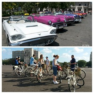 Bikes and classic cars