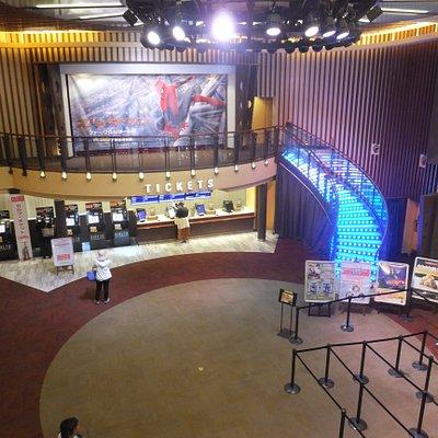 2階の「CAFÉ OASE」から 平日14時頃の写真