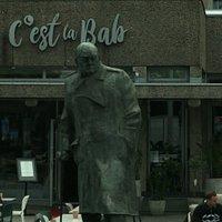 Winston Churchill 동상
