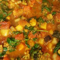 Homemade Vegetarian Curry, this is just one of our homemade dishes, which Martin makes whilst the shop is closed.