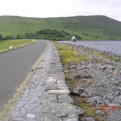 Llyn Celyn Reservoir & Dam off the A4212 (Fron-Goch)