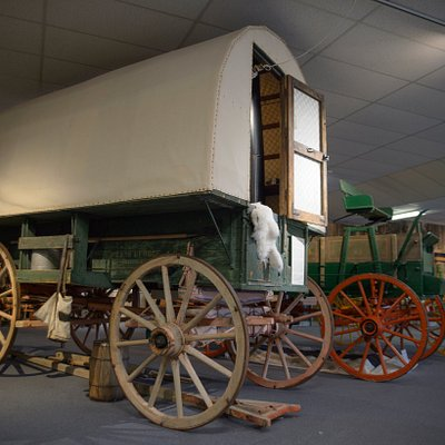 Sheepherder's Wagon at the Rockpile Museum