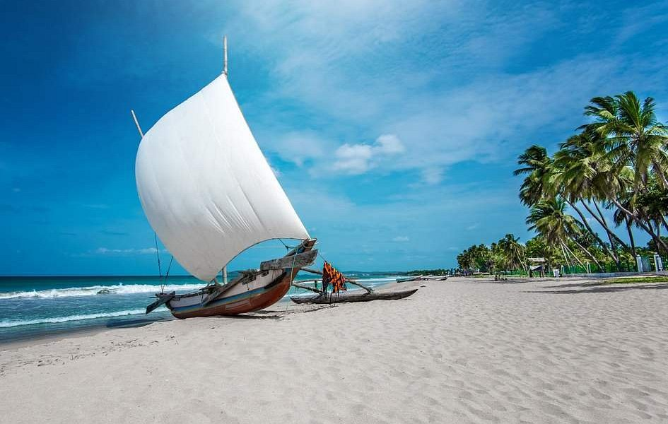 Nearly 1600 km os beaches around Sri Lanka. Whales, Dolphins, Water skiing, Underwater Diving, and fishing is very popular. Various types of boats are available.