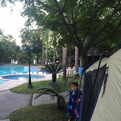 De día o de campamento
